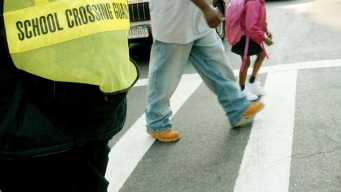 Two Children Hit by Car on the Way to School