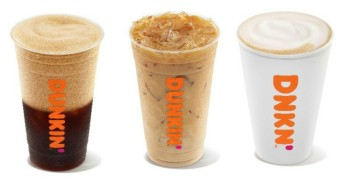 Dunkin' Introduces 'Next Generation' Coffee Drinks