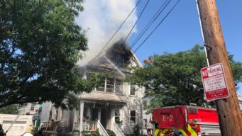 2 Firefighters, 1 Other Injured in Everett Blaze