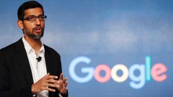 Google CEO Goes to Washington, Will Return to Meet Trump
