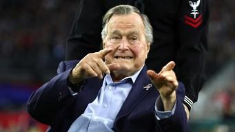 Former President George HW Bush Misses Parade
