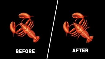 Revised Lobster Emoji Will Have Correct Number of Legs