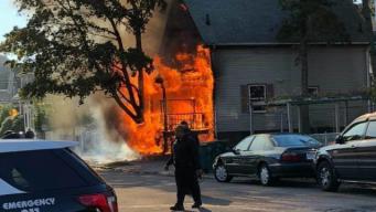 3 People Injured, 4 Pets Die in Lynn Fire