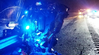 Maine State Trooper Hospitalized After Turnpike Crash