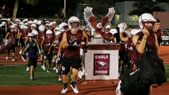 Heavy Hearts on Parkland Football Team as Fall Practice Starts