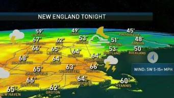 Summer Heat Followed By Strong T'Storms to Begin Workweek