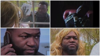 David Ortiz Recreates Famous Boston Movies