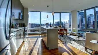 A Sneak Peek Inside Boston Seaport's Posh Penthouses