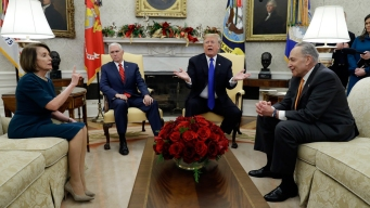 Trump Threatens Shutdown in Wild Encounter With Democrats