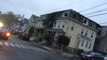 Multi-Family Home Goes Up in Flames
