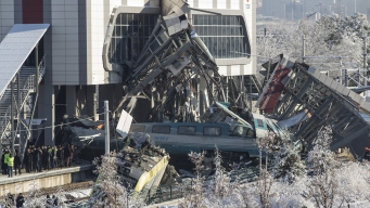 Turkey Train Crash Leaves 9 Dead, Dozens Injured
