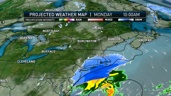Showers Clear Out on Easter, But Expect Snow on Monday