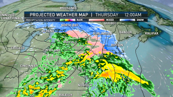 FIRST ALERT: Upcoming Wintry Mix Could Slow AM Commute