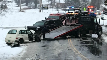 Vermont State Police Respond to 100 Crashes During Spring Snowstorm