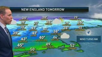 Snow, Rain Mix Heading to New England