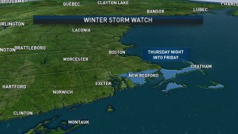 Winter Storm Watch Issued for Parts of Mass.