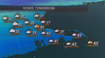 Weather Forecast: Light Snow, Sleet and Rain Arrive Sunday