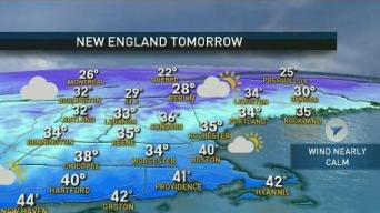 Weather Forecast: Batch of Light Snow Arrives Sunday