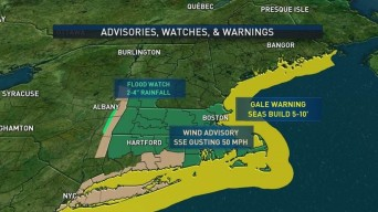 Heavy Downpours Could Cause Damage, Flooding