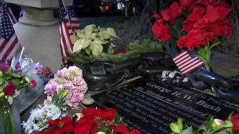 Kennebunkport Residents Pay Respects to George H.W. Bush