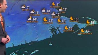 Saturday Claims the Colder Side of the Weekend
