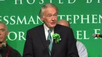 Sen. Ed Markey Cracks Jokes at Annual Breakfast