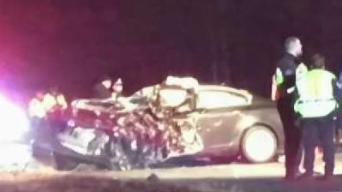 Sources: 1 Dead After 2-Car Crash in Spencer