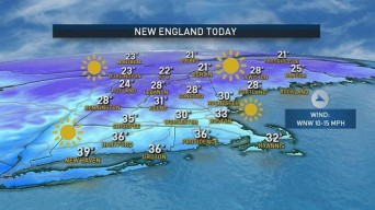 Cold End to St. Patrick's Day Weekend