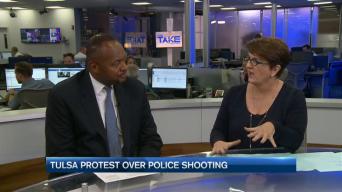 Tulsa Protest Over Police Shooting