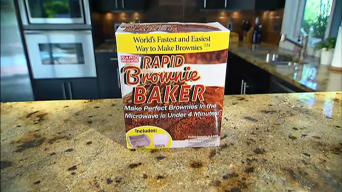 Does it Work: Rapid Brownie Baker