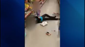 CAUGHT ON CAMERA: Mom ODs in Store as Toddler Looks On