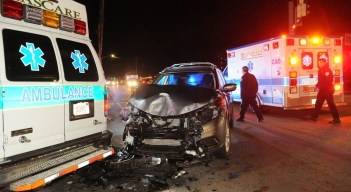 Brockton Ambulance Involved in Crash