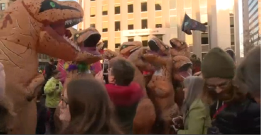 'T-Rex' Meetup Happens in Portland, Maine