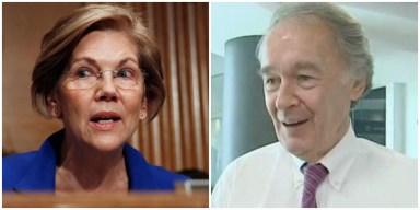 US Sens. Warren, Markey Vote Against Temporary Funding Bill