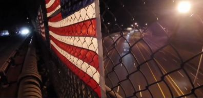 Vandals Reportedly Destroy American Flags Over Mass. Pike