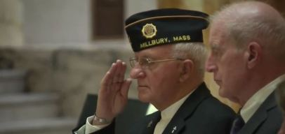 Ceremony Held at Mass. State House to Honor Veterans