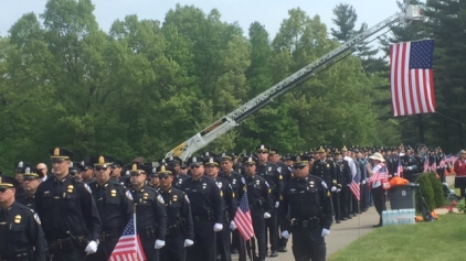 'Ronnie is My Hero': Funeral Held for Slain Police Officer