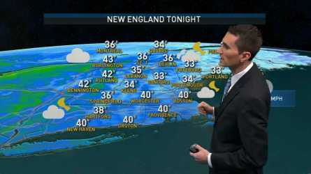 <p>Wednesday night: Partly cloudy. Lows in the 30s and 40s. Thursday: Mix of sun and clouds. Highs in the 60s. Friday: Mostly cloudy. Spot shower. Highs in the 50s and 60s.</p>