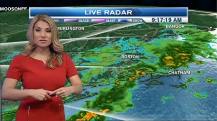 Today...Morning showers, downpours & fog turn to isolated thunderstorms & breaks of sunshine this afternoon. Highs in the 70s along the coast, low 80s interior. Southwest wind 10-15 mph.  Tonight...Evening thunderstorms & showers across the interior and north weaken and diminish by midnight. Rain across the Cape & Islands. Patchy Dense Fog. Lows in the upper 50s to the lower 60s.   Tuesday...Morning clouds south clear out by the afternoon. Mostly sunny & warm. Highs in the low to mid 80s. West winds 5 to 10 mph.