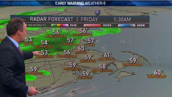 Weather Forecast Downpours Moving Through New England Necn