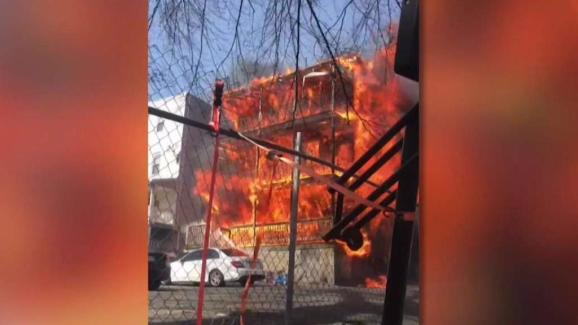 6 Alarm Fire Displaces At Least 15 In Chelsea