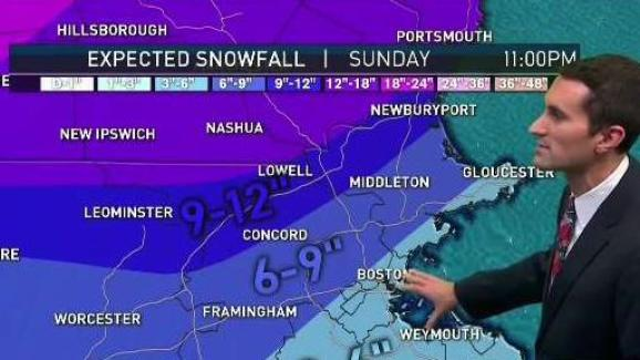 9 News Weather Map.Weather Forecast Winter Storm Approaching New England Necn