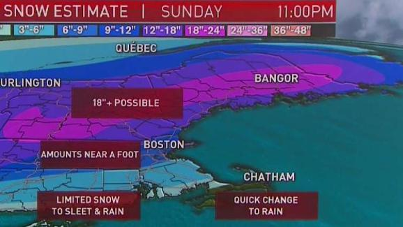 Weather Forecast: Storm Set to Hit New England This Weekend   NECN