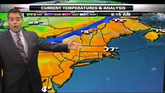 Cold Front On Weather Map.Weather Forecast Cold Front Moving Through Necn