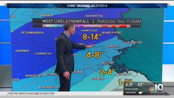 Weather Forecast: Storm Bringing Snow Wednesday Onward   NECN