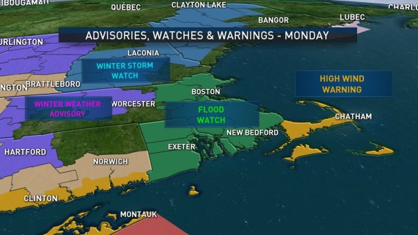Coastal Storm on the Way