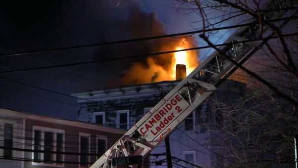 Investigation Into 10-Alarm Blaze Underway