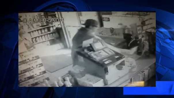 Man Caught Stealing Donation Can From Gas Station