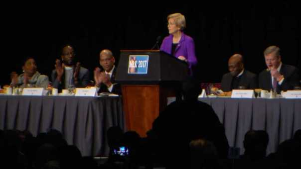 Mass. Politicians Sound Off on Trump at MLK Breakfast