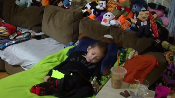 'Brocktober' Fulfilling Halloween Wishes for Ill Child